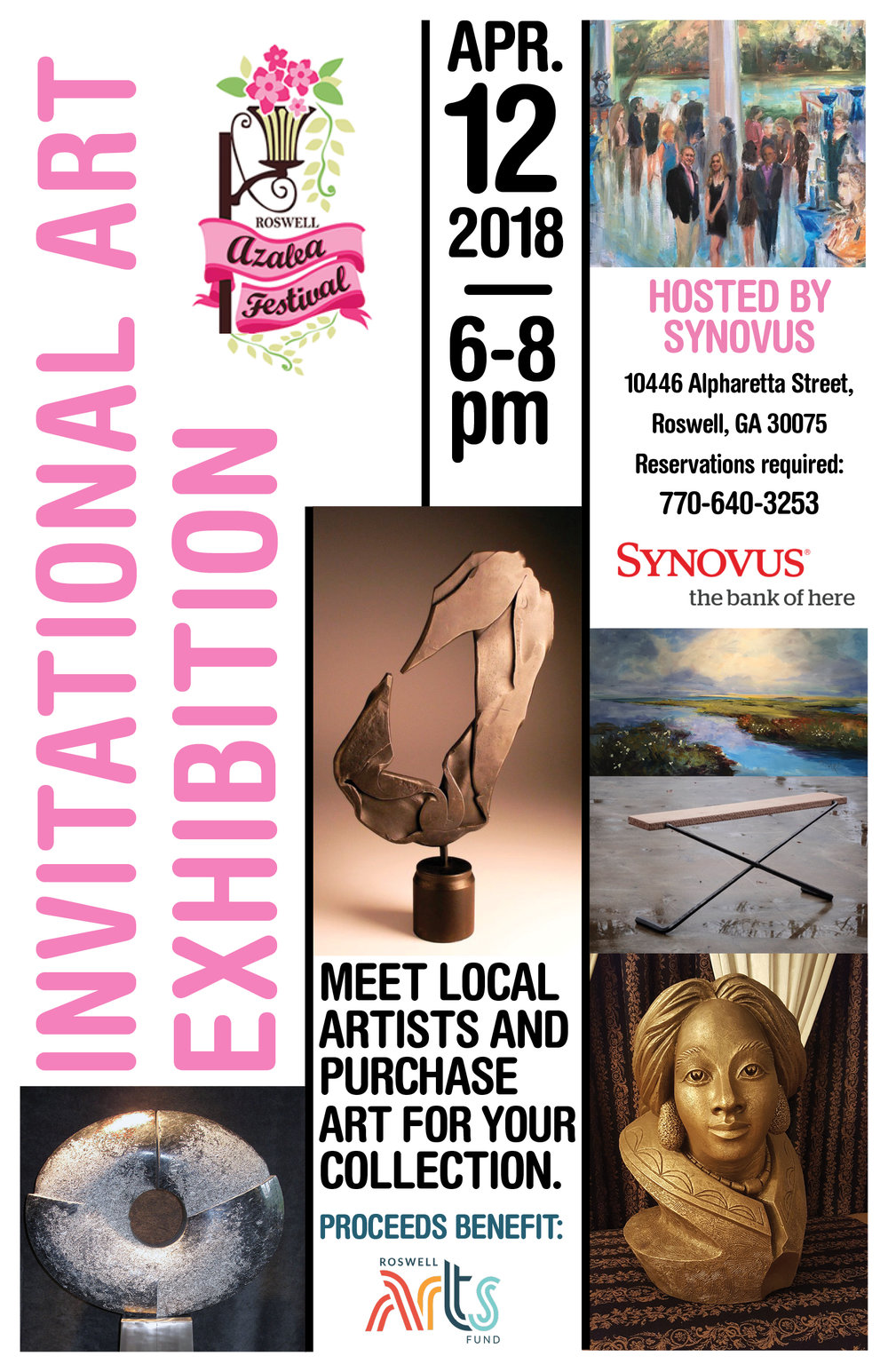 Invitational Art Exhibition - Roswell Azalea Festival