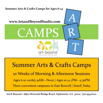 Summer Arts & Crafts Camps Ages 5-14