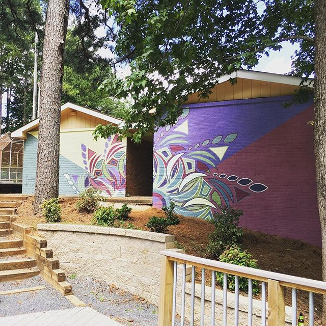 Roswell Area Park Mural By Theresa Arlette, c. 2016