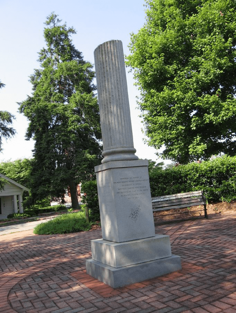 Roswell Mill Workers Monument By c. July 8th, 2000