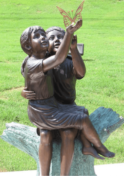 Leita Thompson Memorial Garden Bronzes By c. May 17th, 2006 and June 20th, 2007
