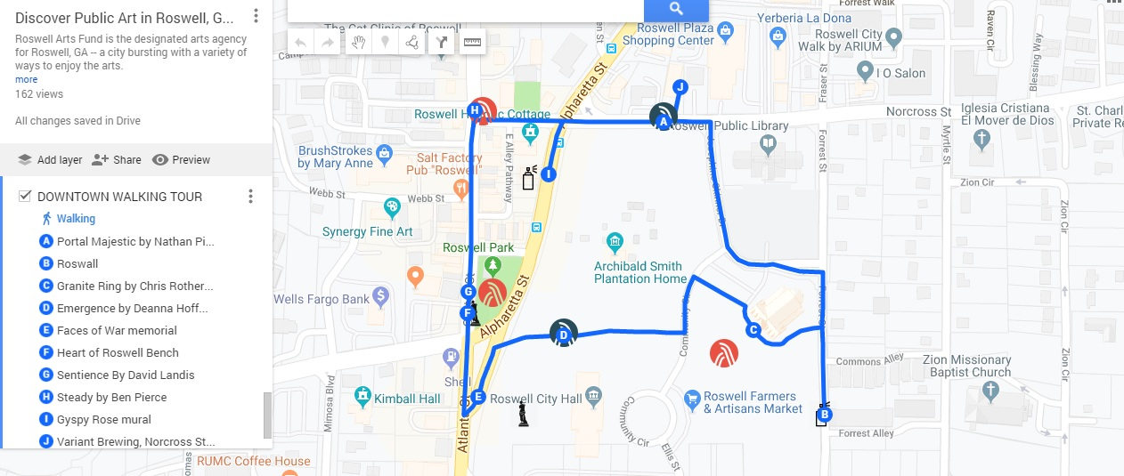 2019 Downtown walking tour